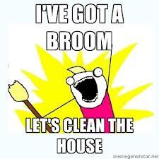 clean it now